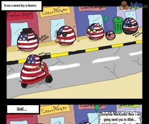 Normalny dzień w USA