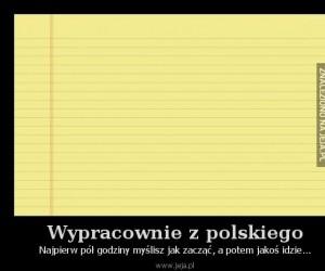 Wypracownie z polskiego