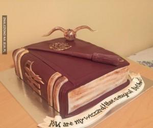 Urodzinowy tort dla fana Harrego Pottera