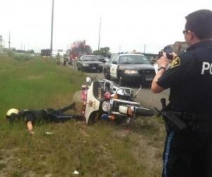 Policjant fajtłapa