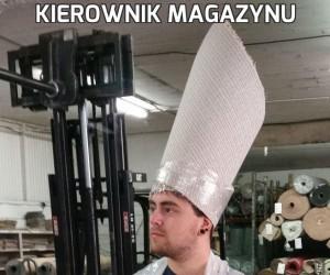 Kierownik magazynu