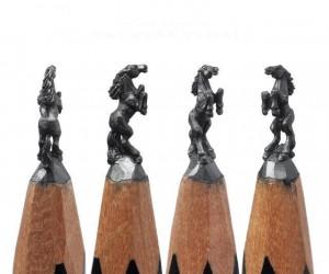 Precyzyjne rzeźbienie w ołówkach cz.2