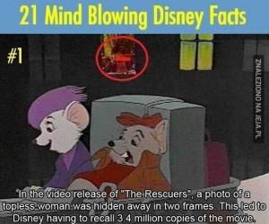 Ciekawostki o bajkach Disneya