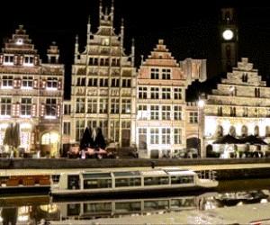 Miasto w animacji z dziesięciu tysięcy zdjęć