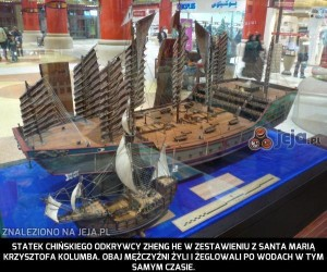 Chińskie statki były potężne...