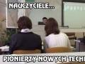 Nauczyciele...