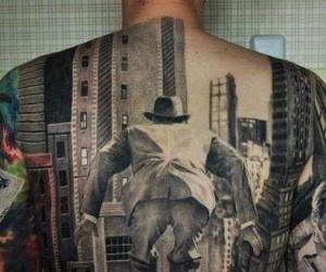 Niesamowity tatuaż