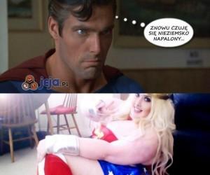 Superman ma swoje sposoby