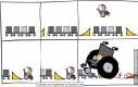 Wózek akrobacji