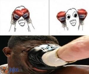Z życia boksera