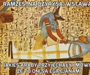 Trochę się zmieniło w tym Egipcie