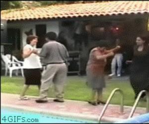 Babcia się roztańczyła i...