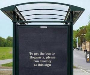 Do Hogwartu? To z rozbiegu proszę!