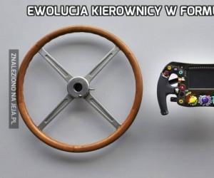 Ewolucja kierownicy w Formule 1