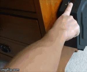 Bezpieczny pistolet jest bezpieczny