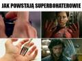 Jak powstają superbohaterowie