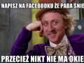 Od dziś na Fb...