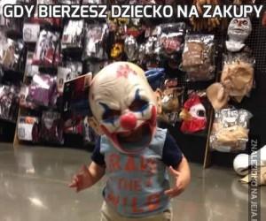 Gdy bierzesz dziecko na zakupy