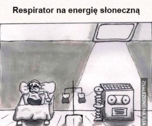 Respirator na energię słoneczną