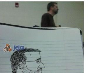 Nuda na wykładzie