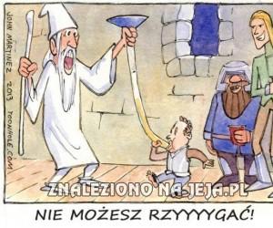 Co mówi Gandalf?