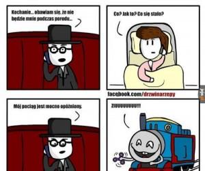 Opóźniony pociąg