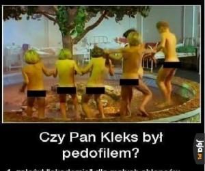 Czy Pan Kleks był pedofilem?