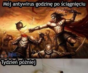 Antywirusy...