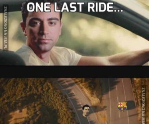 One last ride...