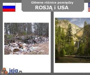 Rosja vs USA - Krajobrazy