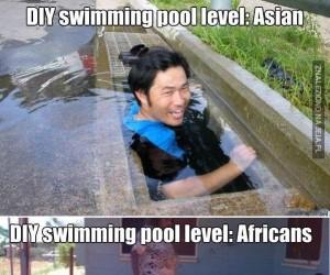 Własnoręcznie robione baseny