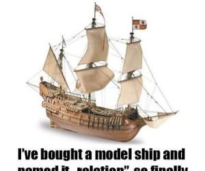 Model statku