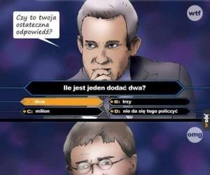 Zła odpowiedź!