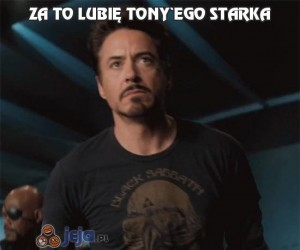Za to lubię Tony'ego Starka