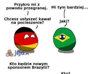 Nowy sponsor Brazylii