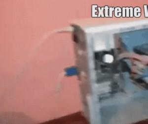 Ekstremalne chłodzenie komputera dla biednych