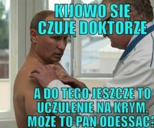 Przychodzi Putin do lekarza...