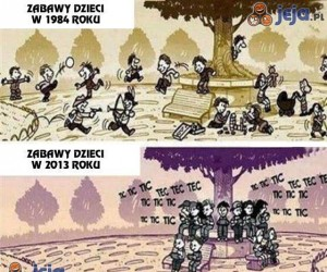 Dzieci kiedyś i dziś