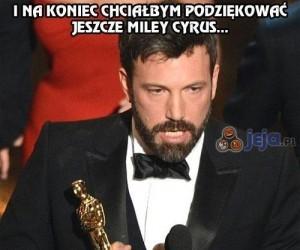 Ben Affleck na rozdaniu Oskarów