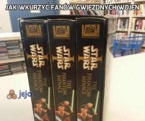 Jak wkurzyć fanów Gwiezdnych Wojen