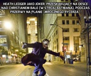 Joker, Batman i deskorolka...