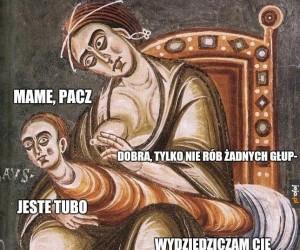 Średniowieczna sztuka żyje własnym życiem