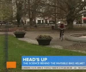 Poduszka powietrzna dla rowerzystów