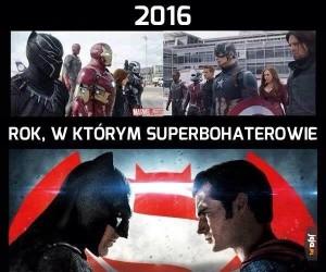 2016 to bardzo dziwny rok...