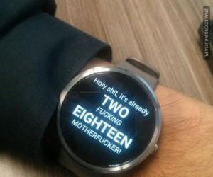 Dawaj mię tego zegarka!