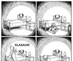 Klaun vs nocna zmora