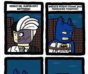 Udało się, złapaliśmy Batmana!