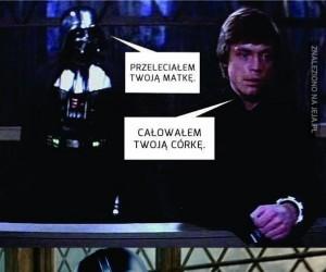 Luke, co ty gadasz?!