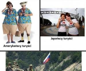 Ach, ci turyści...