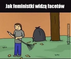 Jak feministki widzą facetów